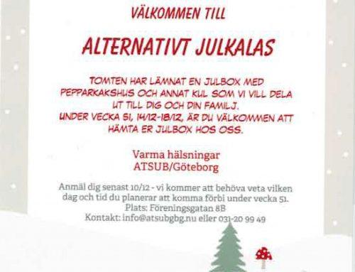 Välkommen till alternativt julkalas!